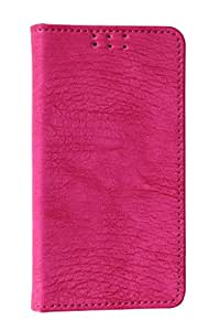 D.rD Artificial Leather Mobile Flip Cover With Card Holder For Asus Zenfone 2 ZE551ML (Pink)