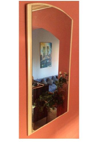 M-Möbel Spiegel Wandspiegel Flur Garderobe Buche 90 x 50 cm Hängespiegel