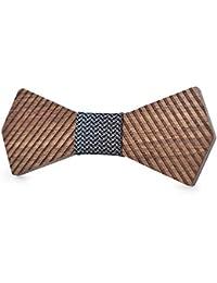 Corbata de hombre hecha a mano creativa Corbata de lazo para adultos de la  boda de los hombres Corbatas de lazo de… 5ae145d037d