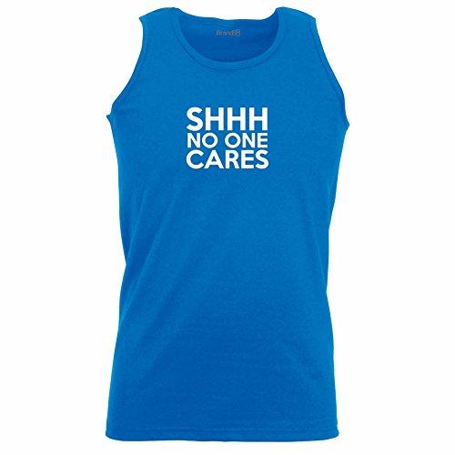 Brand88 - Shhh No One Cares, Unisex Athletic Weste Koenigsblau