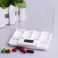 Die Intelligente Medizin Erinnert - Box Vier Gitter Elektronische Timing Medizin - Box Tragbare Alte Medizin Erinnert... preisvergleich bei billige-tabletten.eu