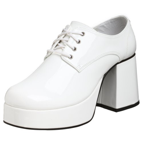 Pleaser JAZZ-02, Herren Oxfords, Weiß (White), 44 EU (11/12 UK)