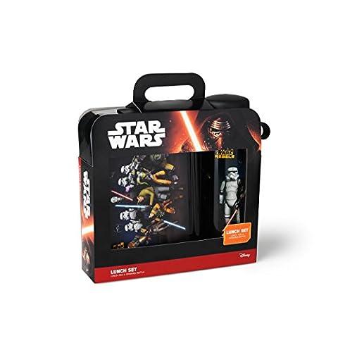 Star Wars 30590050Rebels Trinkflasche und Brotdose, aus Kunststoff,