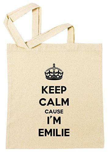 keep-calm-cause-im-emilie-einkaufstasche-wiederverwendbar-strand-baumwoll-shopping-bag-beach-reusabl