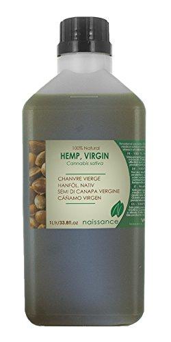 Cáñamo Virgen - Aceite Portador 100% Puro - 1 Litro