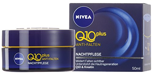 Nivea Q10 Plus Anti-Falten Nachtpflege, 1er Pack (1 x 50 ml) (Anti-falten-nacht-creme)