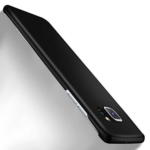 MoEx Samsung Galaxy S7 Edge Hülle Schwarz OneFlow Alpha Back-Cover TPU Schutzhülle Dünn Handyhülle für Samsung Galaxy S7 Edge Case Ultra-Slim Thin Skin Handy Schutz Rückseite