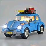 Daniko LED Beleuchtungsset für Lego VW Käfer 21003 10252 (nur Lichtset)