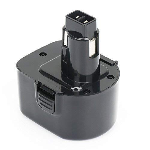 REEXBON Black & Decker 12V 3000mAh NIMH Batteria di ricambio per Black & Decker A9252 A9266 A9271 A9275 FS12 PS130 CD1200 CD1200K CD1202GK CD1202K HP331 HP331K-2 HP331K2