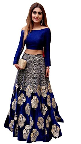 da1f65d1c2 ShreeBalaji Fashion 2017 New Launching Blue Colour Anarkali Style Special  Weadding And Bridal Or Party Wear