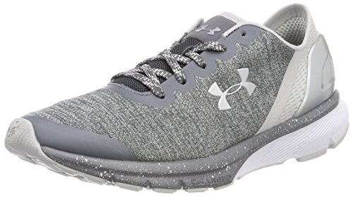 Under Armour UA W Charged Escape, Scarpe Running Donna, Grigio (Rhino Gray), 41 EU