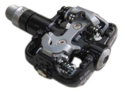 Wellgo Magnesium Klick SPD Pedal MG-18 mit Cleats, 335 gr., schwarz