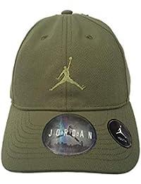 69622724881 Nike Jordan Floppy Kids Adjustable Unisex Cap in Palm Green