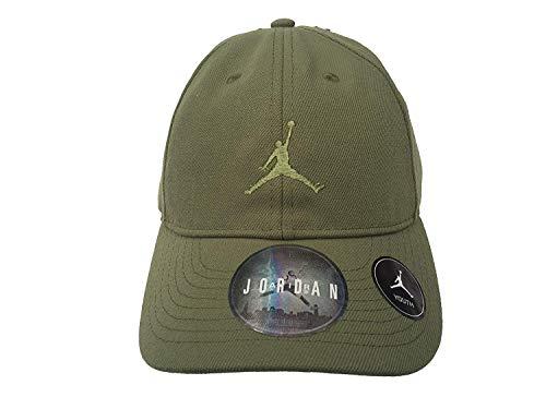 26834360405 Nike Boy`s Air Jordan Baseball cap (Palm Green(9A1922-E5B)