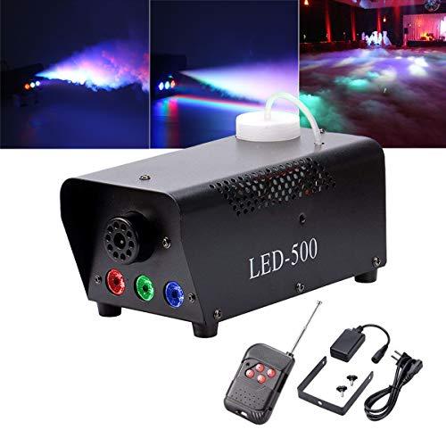LED 500W mit Effekt RGB Farbe per Fernbedienung und DMX Groß für Hochzeit DJ Disco Party Bühne Lichter ()