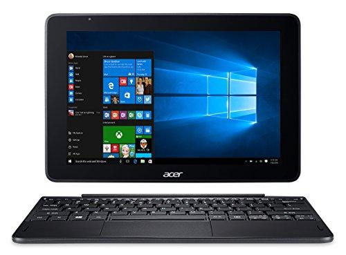Acer Switch One 10 S1003-19ZA Notebook 2 in 1, Display da 10.1 IPS HD, Processore Intel Atom x5-Z8350, RAM da 2 GB DDR3, 64 GB eMMC, Scheda Grafica Intel HD Graphics, Nero