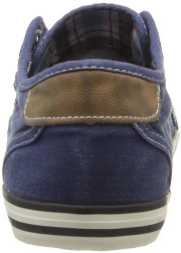 Mustang 4058401, Baskets mode homme Bleu (841 Jeans Blau)