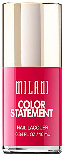 Milani Color Statement Nail Lacquer, 40 Red Label, 0.34 fl. oz. by Milani - Milani Nail Lacquer