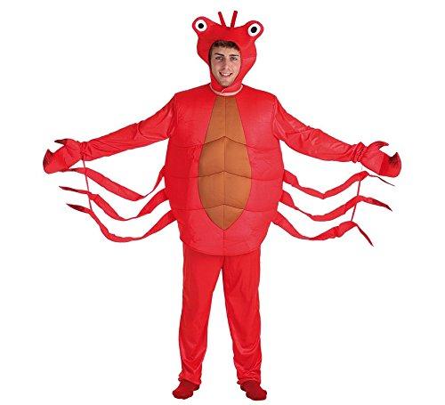 Imagen de llopis  disfraz adulto cangrejo rojo