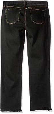 J Brand Jeans Women's Mid Rise Straight Crop Hem Jean