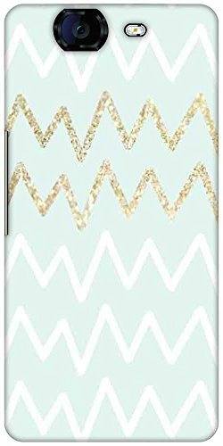 Snoogg Wavular Designer Protective Back Case Cover For Micromax Canvas Knight A350