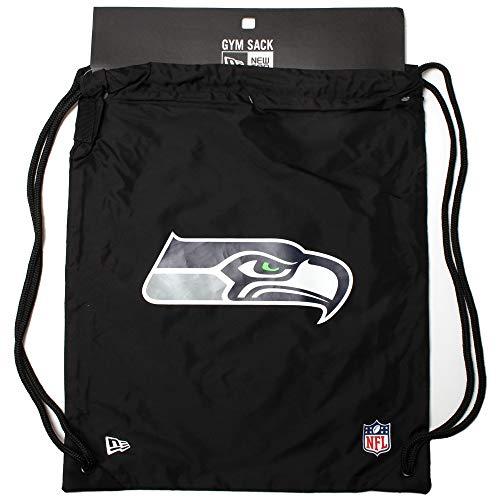 New Era NFL Gym Sack Seasea Blkotc Tasche und Rucksack, Unisex Erwachsene, Schwarz, Einheitsgröße