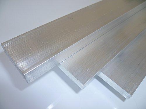B&T Metall Aluminium Flach eloxierfähig, schweißbar, roh, unbehandelt | Maße 40 x 8 mm, Länge ca. 1,0 m