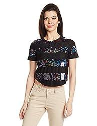 Only Womens Body Blouse Shirt (15096848_ Black_ M)
