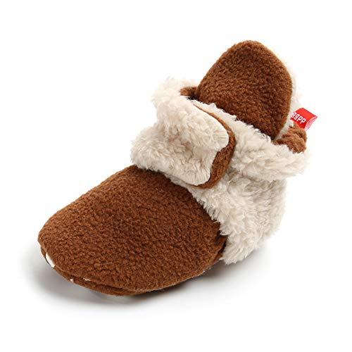 Sabe - Zapatillas Forro Polar niños niñas, Suela