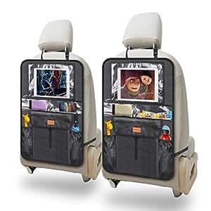 2 Stück Autositz Organizer Wasserdichter Rücksitzschoner für Kinder Kick BE DHL