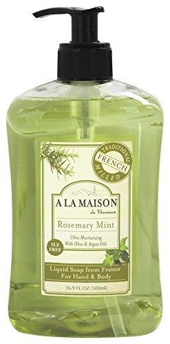 Seife Rosemary Mint (A La Maison French Liquid Soap Rosemary Mint by A La Maison)