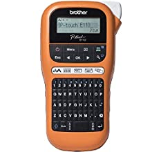 Brother PT-E110 Label Maker, P-Touch Electrician Labeller, Handheld