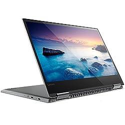 "Lenovo Yoga 720-15IKB - Ordenador portátil convertible de 15.6"" Full HD (Intel Core i7-7700HQ, 8 GB RAM, 512 GB SSD, Nvidia GeForce GTX1050-2GB, Windows 10 Home) gris metalizado - Teclado QWERTY Español"