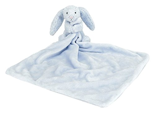 Image of Blue Bashful Bunny Soother - Baby Toy by Jellycat / Jellykitten