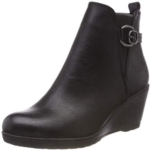 MARCO TOZZI Damen 25330-21 Chelsea Boots, Schwarz (Black Antic 002), 39 EU