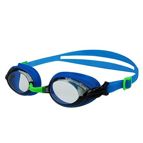 Dr.B Barracuda Optische Schwimmbrille mit Sehstärke AntiBeschlag #92295 Blau (-4.5)