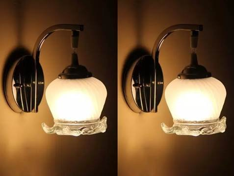 SFL Smart look Attractive classy Wall Lamp For Home Intirior. ( PACK OF 2) mon