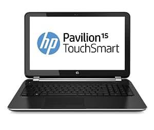 "HP Pavilion Touchsmart 15-n062sf Ordinateur Portable 15,6"" (39,62 cm) Intel Core i5 4200U 1,6 GHz 750 Go 4096 Mo AMD Radeon HD 8670M Windows 8 Noir Aluminium"