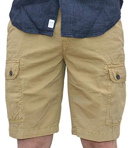 Timberland-herren-shorts (Timberland SMU Cargo Herren Shorts Beige A1TDH918 34)