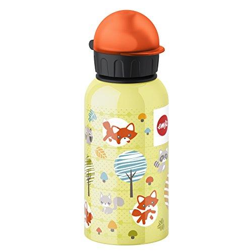 rinkflasche, 400 ml, Sicherheits-Verschluss, 100% dicht, Kids Fuchs ()