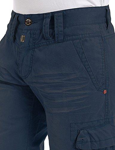 Timezone Herren Shorts Maisontz Cargo Shorts Blau (mood indigo 3607)