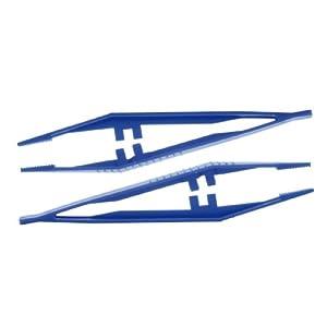 Pinzetten Pinzette Einmal- steril sterile Pinzetten Einmalpinzetten blau 100 Stück Original Tiga-Med Qualität