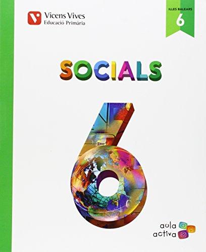 Socials 6 Balears (aula Activa) - 9788468228518