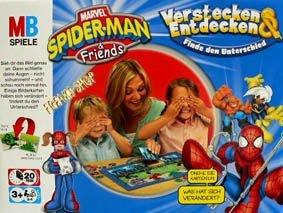 MB-Spiele: Spider-Man & Friends - Verstecken und Entdecken
