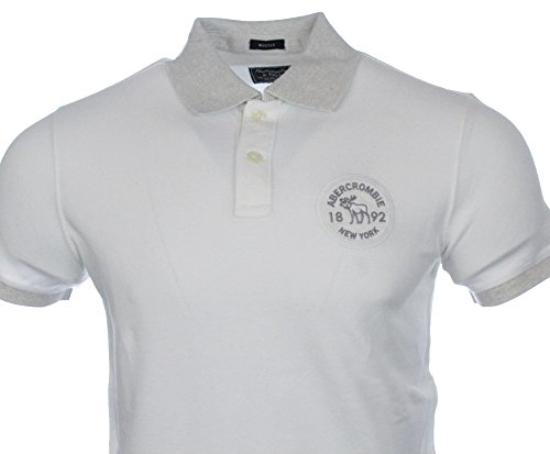 abercrombie-fitch-herren-kurzarm-polo-weiss-1892-new-york-muscle-l