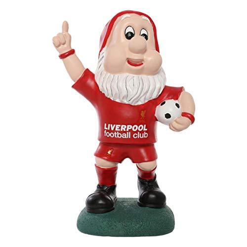 FC Liverpool Gartenzwerg Jubel, Zwerg, Garden gnom LFC – Plus Aufkleber Wir lieben Fußball