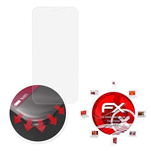 atFolix Schutzfolie passend für Allview Soul X5 Mini Folie, entspiegelnde & Flexible FX Bildschirmschutzfolie (3X)
