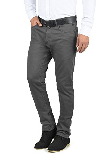 Blend Saturn Herren Chino Hose Stoffhose Aus Stretch-Material Slim Fit, Größe:W30/32, Farbe:Ebony Grey (75111)