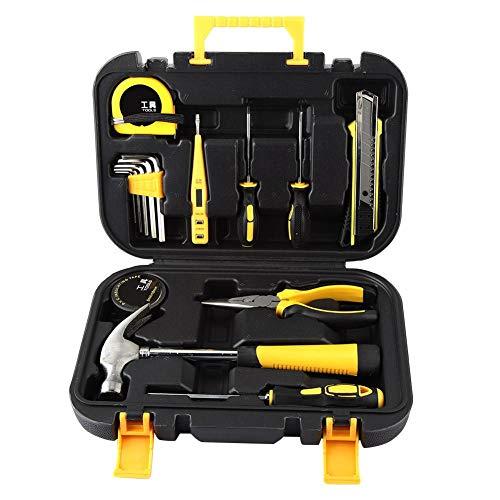 s-Werkzeug-Set für Heimwerker-Reparatur-Hardware Kombi-Werkzeug-Set für Zuhause, Büro, Schuppen, Garage, Fahrrad, Auto Reparatur Wartung ()