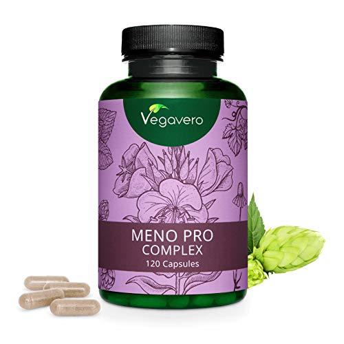 Suplemento Menopausia Vegavero® | Aceite de Onagra + Manzanilla + Lú